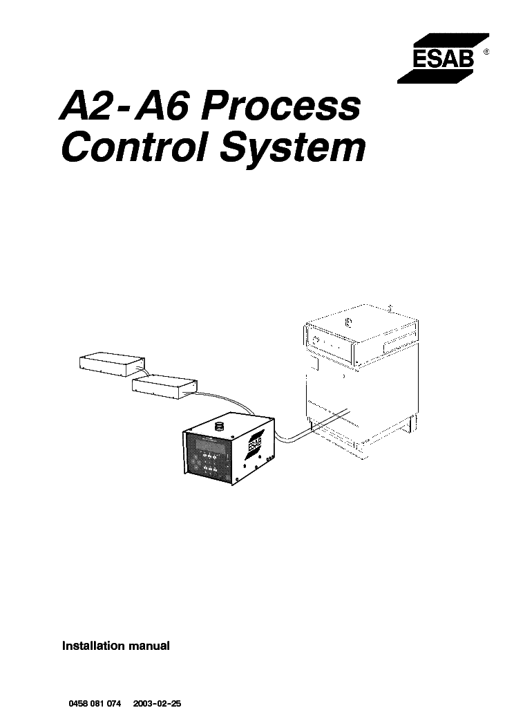 ESAB ORIGO-MAG C150 C170 C200 C250 Service Manual download