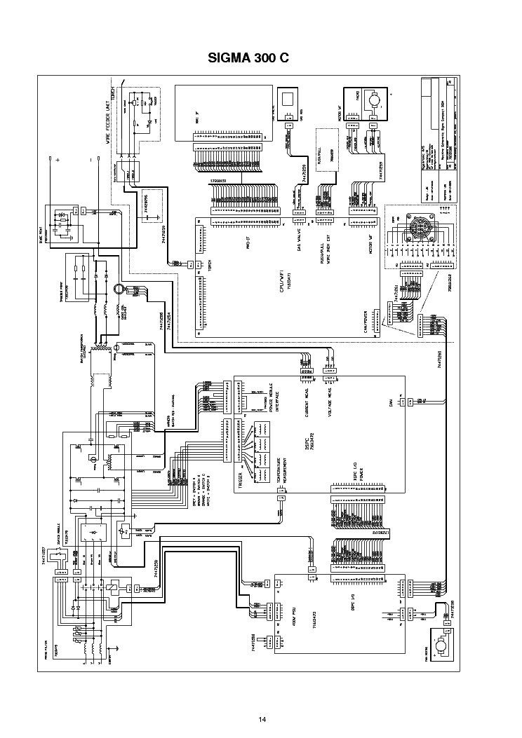 MIGATRONIC LTE 140 SM Service Manual download, schematics