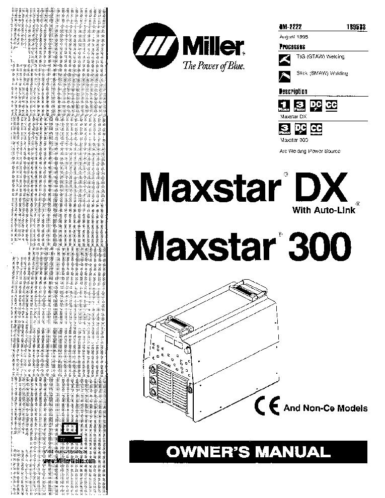 MILLER AEA-200L LE OM-410J Service Manual download