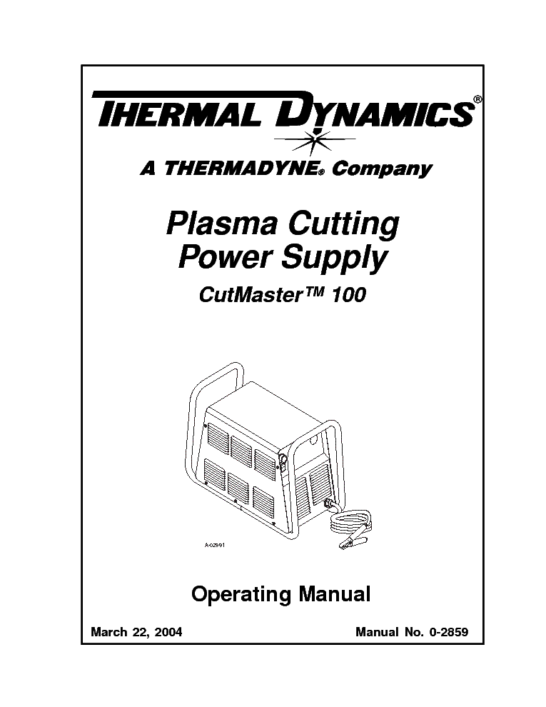 THERMAL ARC MODEL 400S GMS GTS Service Manual download
