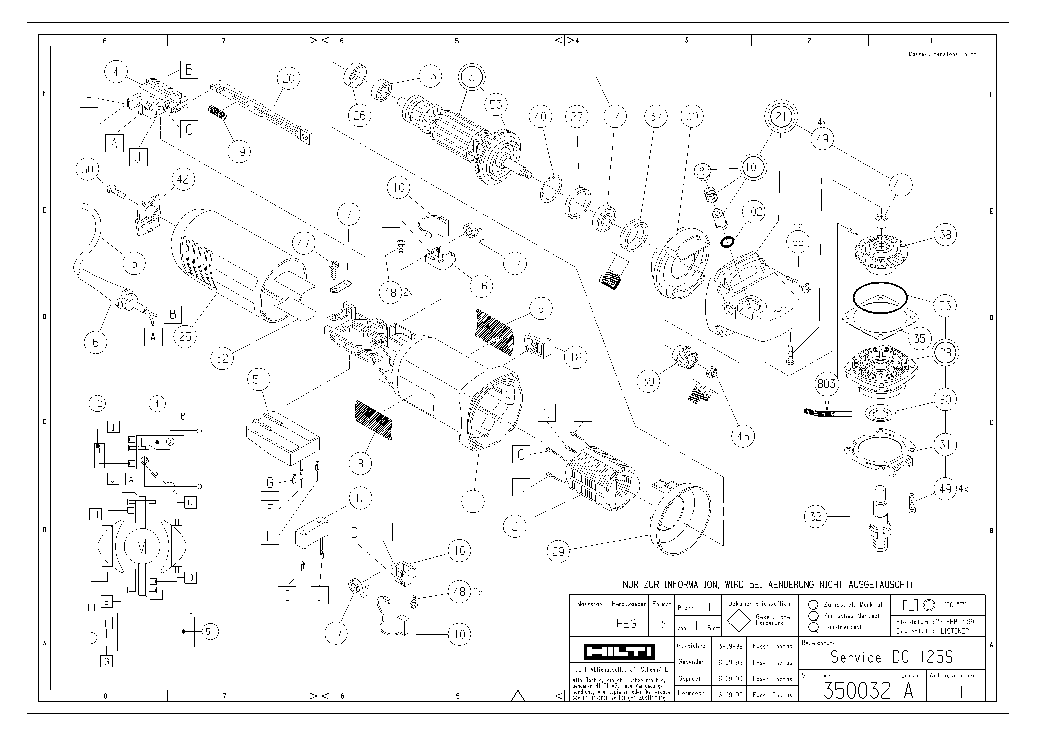Hilti Parts Breakdown. Parts. Wiring Diagram Images