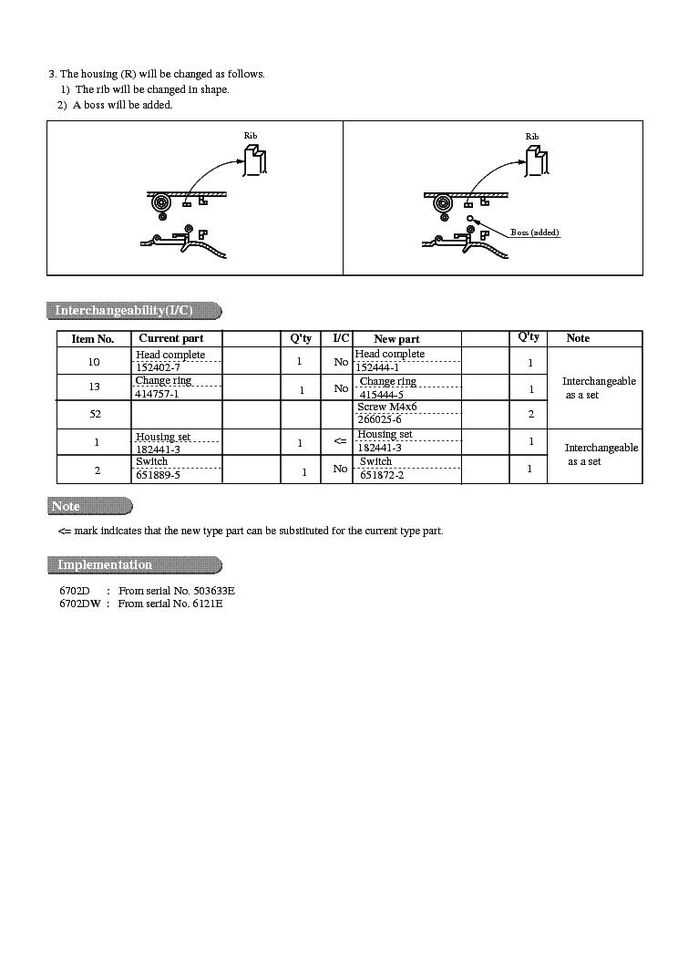 MAKITA 46190-WW-1 Service Manual download, schematics