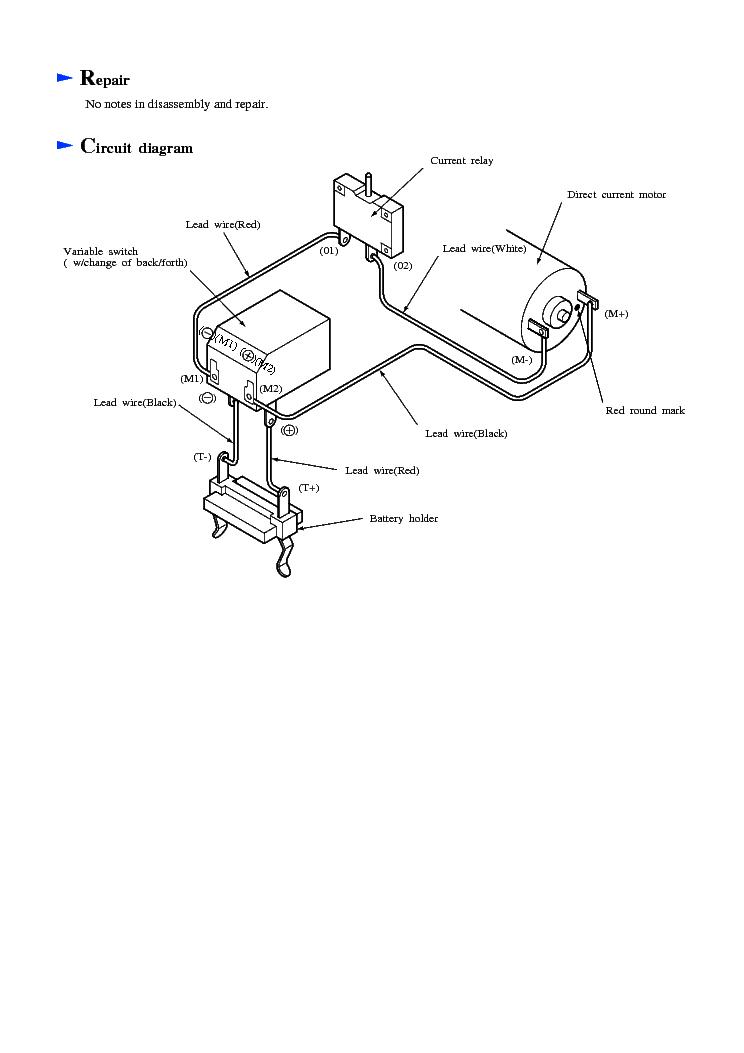MAKITA 6400D-TE Service Manual download, schematics