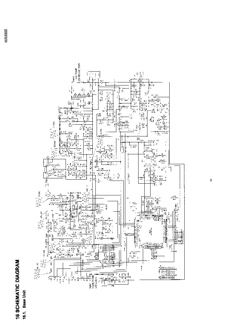 PANASONIC KX-TC1405 Service Manual download, schematics
