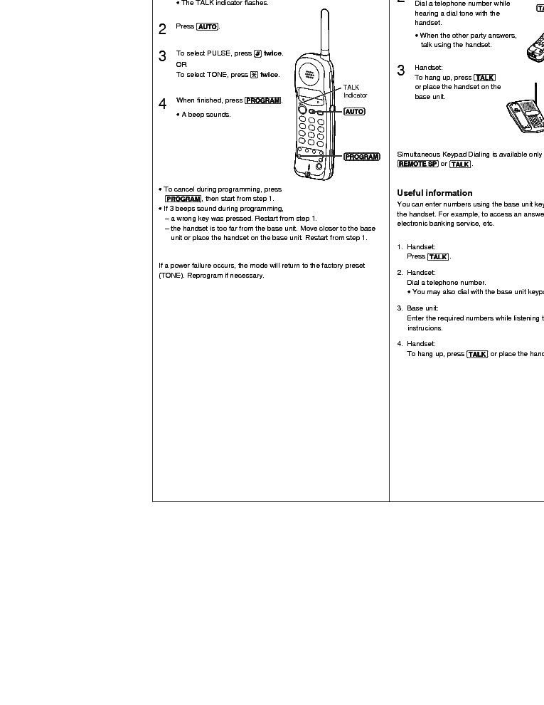 PANASONIC KX-TC1450 Service Manual download, schematics