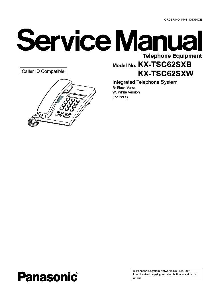 PANASONIC WV CF224 COLOR CCTV CAMERA Service Manual