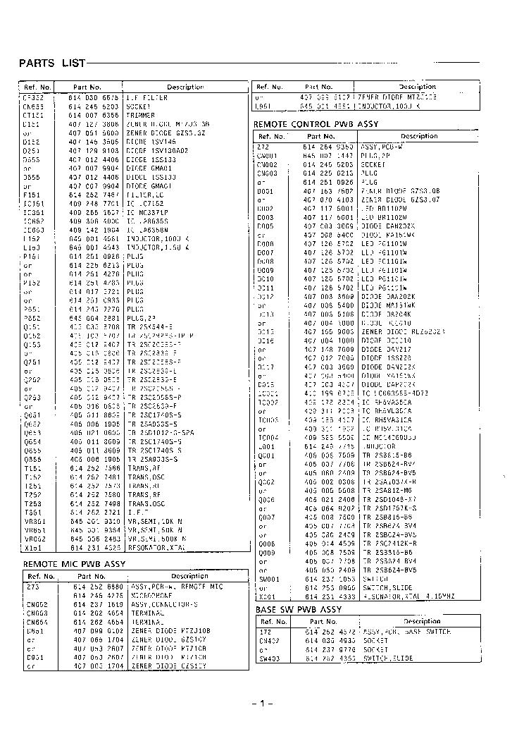 SANYO CLT-5280 SM Service Manual download, schematics