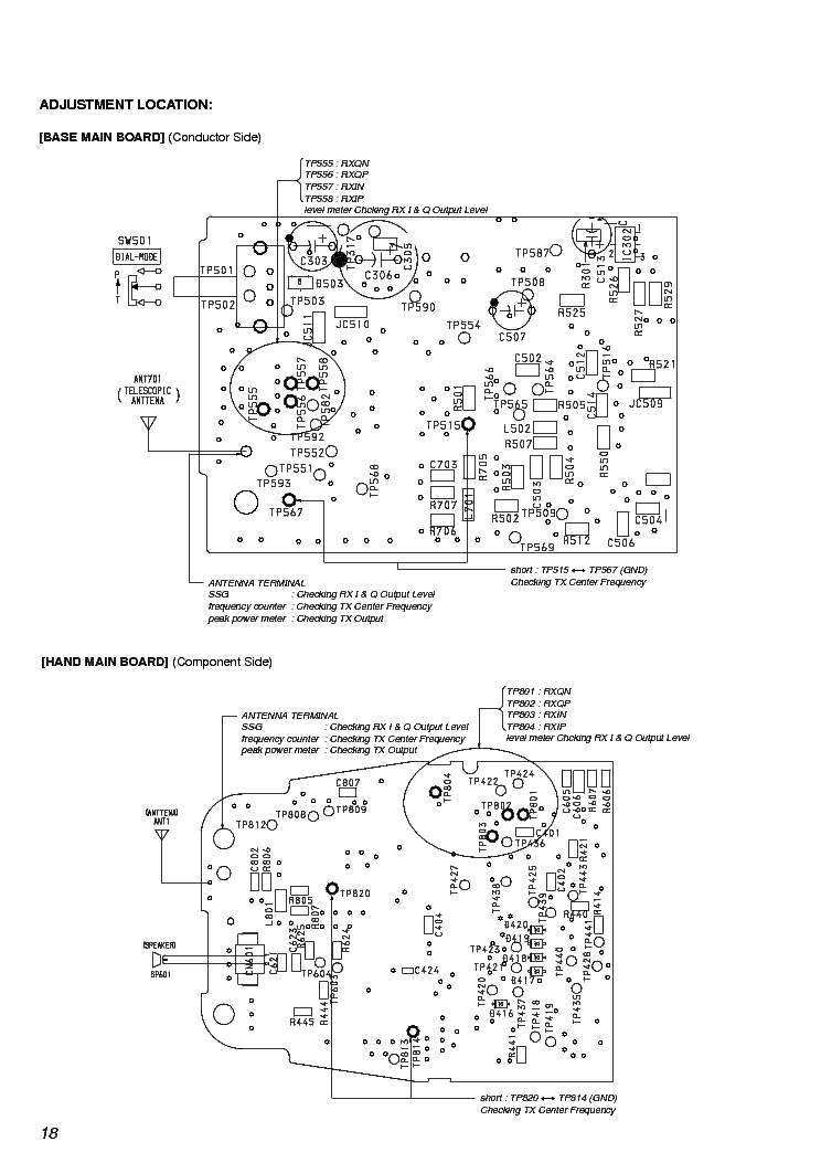 SONY SPP-9000 9001 SM Service Manual download, schematics