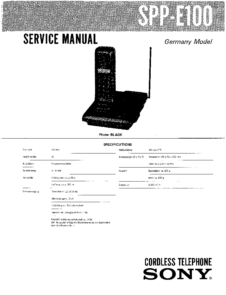 SONY SCPH-39000 SCPH-39001 1ST EDITION Service Manual