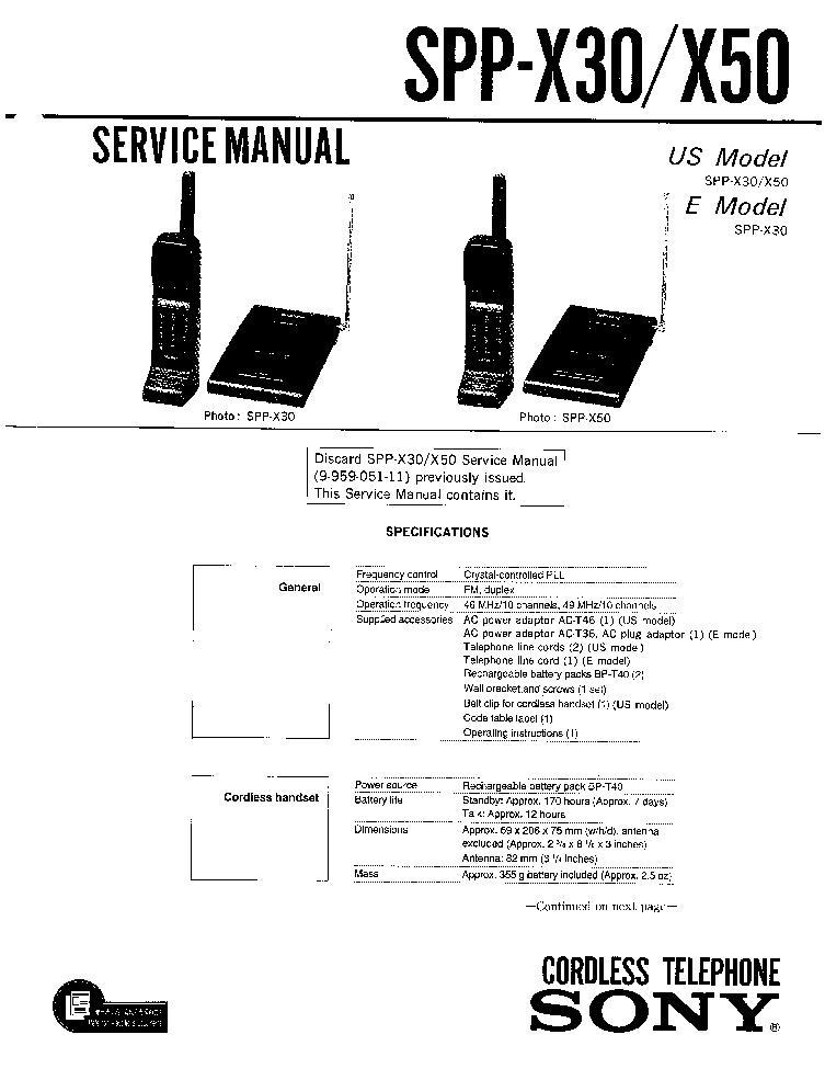 SONY IT-D100 Service Manual download, schematics, eeprom