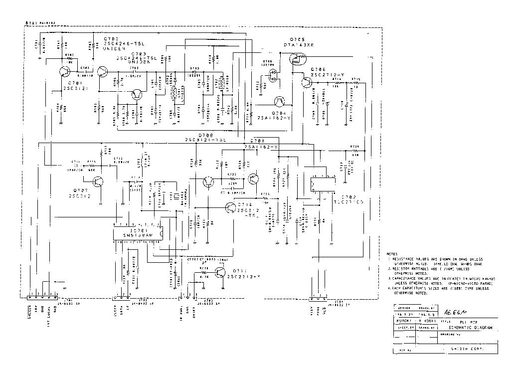 ALBRECHT AE66M SCH Service Manual download, schematics