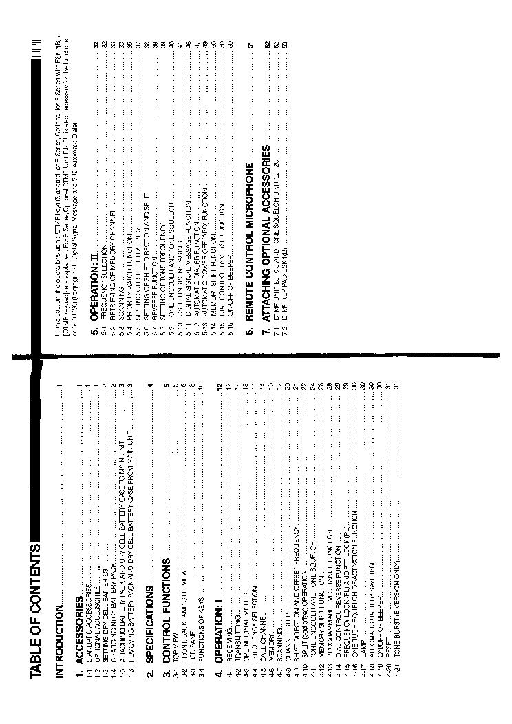 ALINCO DJ-F1,S1,F4,S4 Service Manual download, schematics