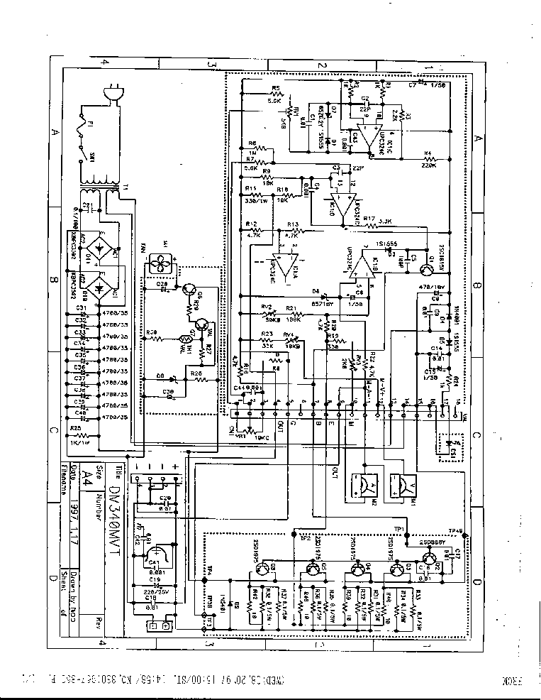 ALINCO DM-340MVT Service Manual free download, schematics
