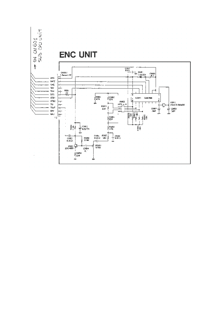 ALINCO DR-610 Service Manual download, schematics, eeprom