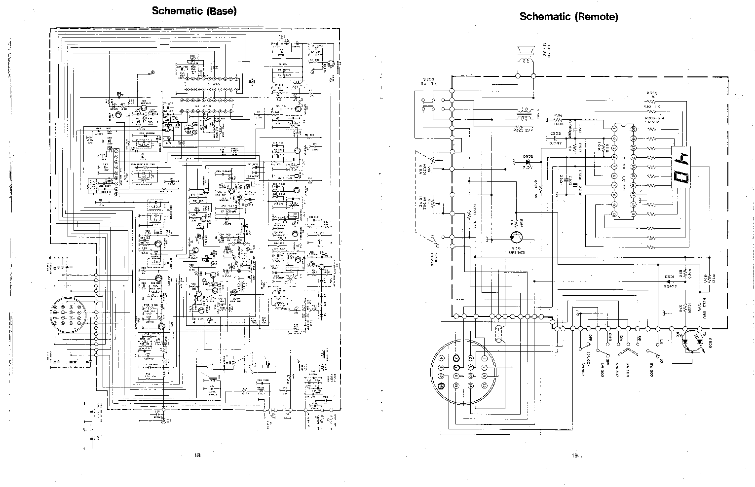 COBRA 200-GTL SCH Service Manual download, schematics