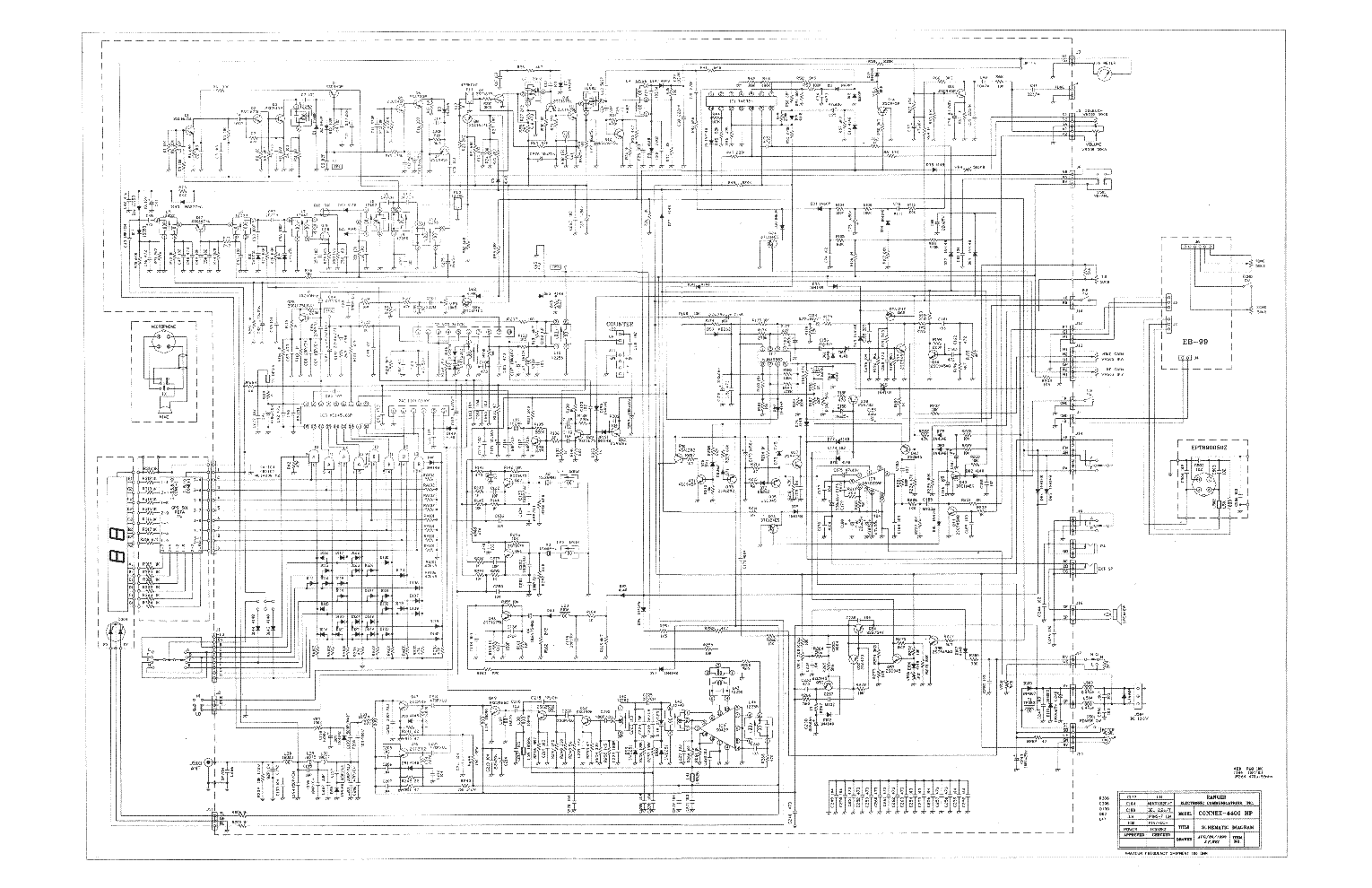 CONNEX CX4300HP Service Manual download, schematics