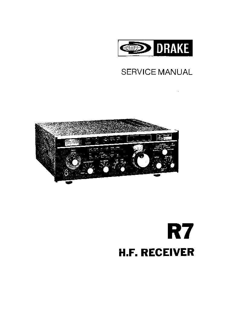 DRAKE TC-6 6M TRANSMITTING CONVERTER. Service Manual