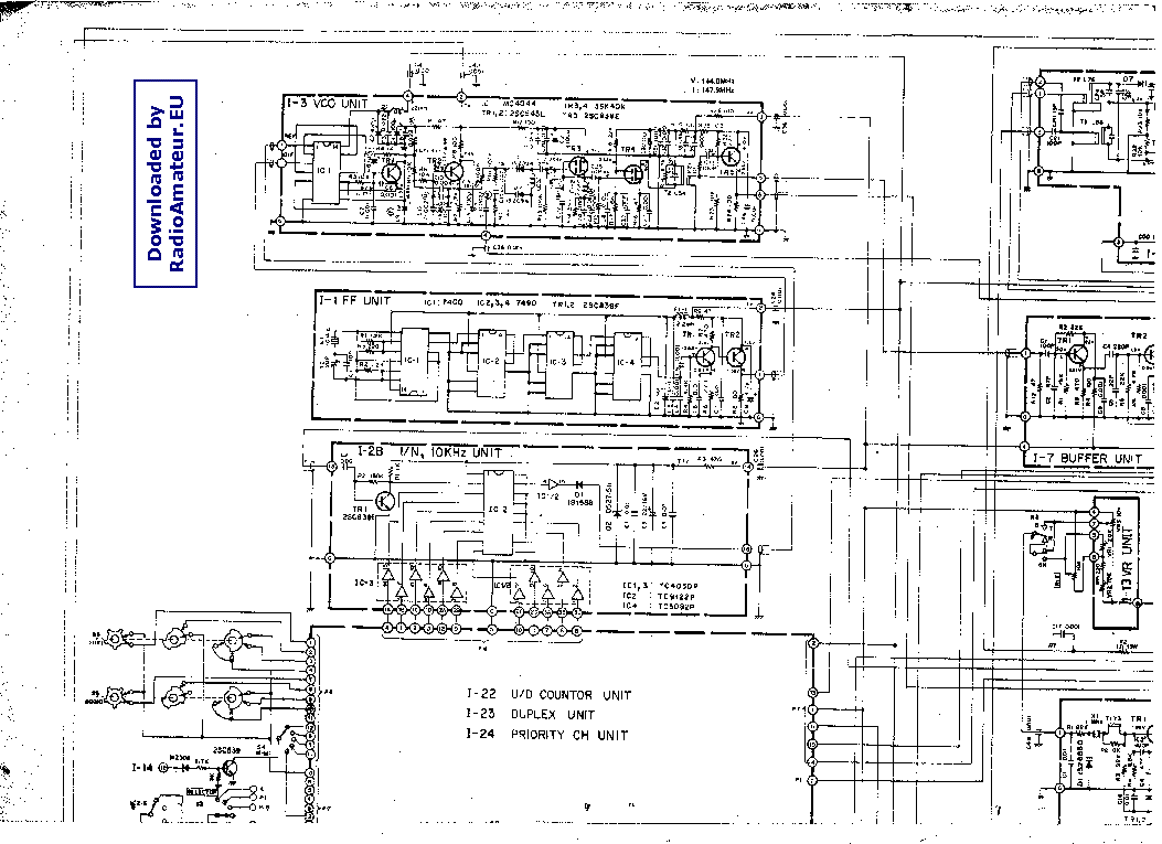 FDK MULTI-3000 Service Manual free download, schematics