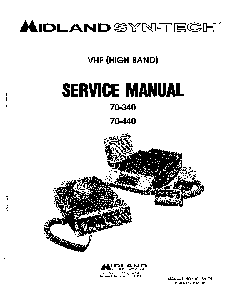 MIDLAND 1001Z SCH Service Manual download, schematics