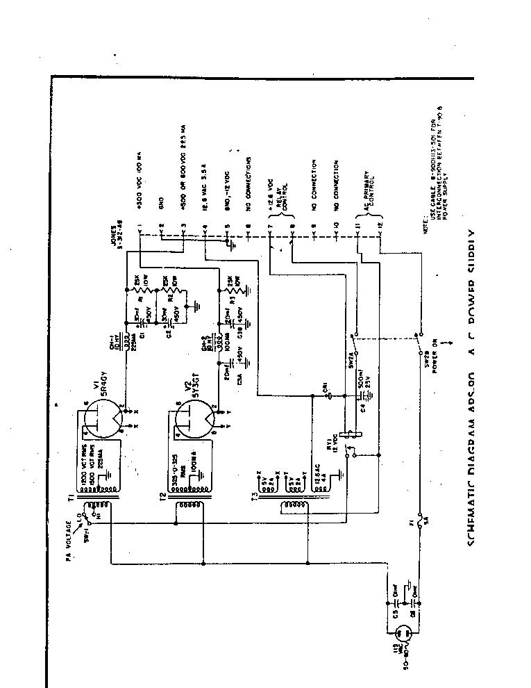 HARVEY WELLS APS-90 POWER SUPPLY-SCH SCH Service Manual