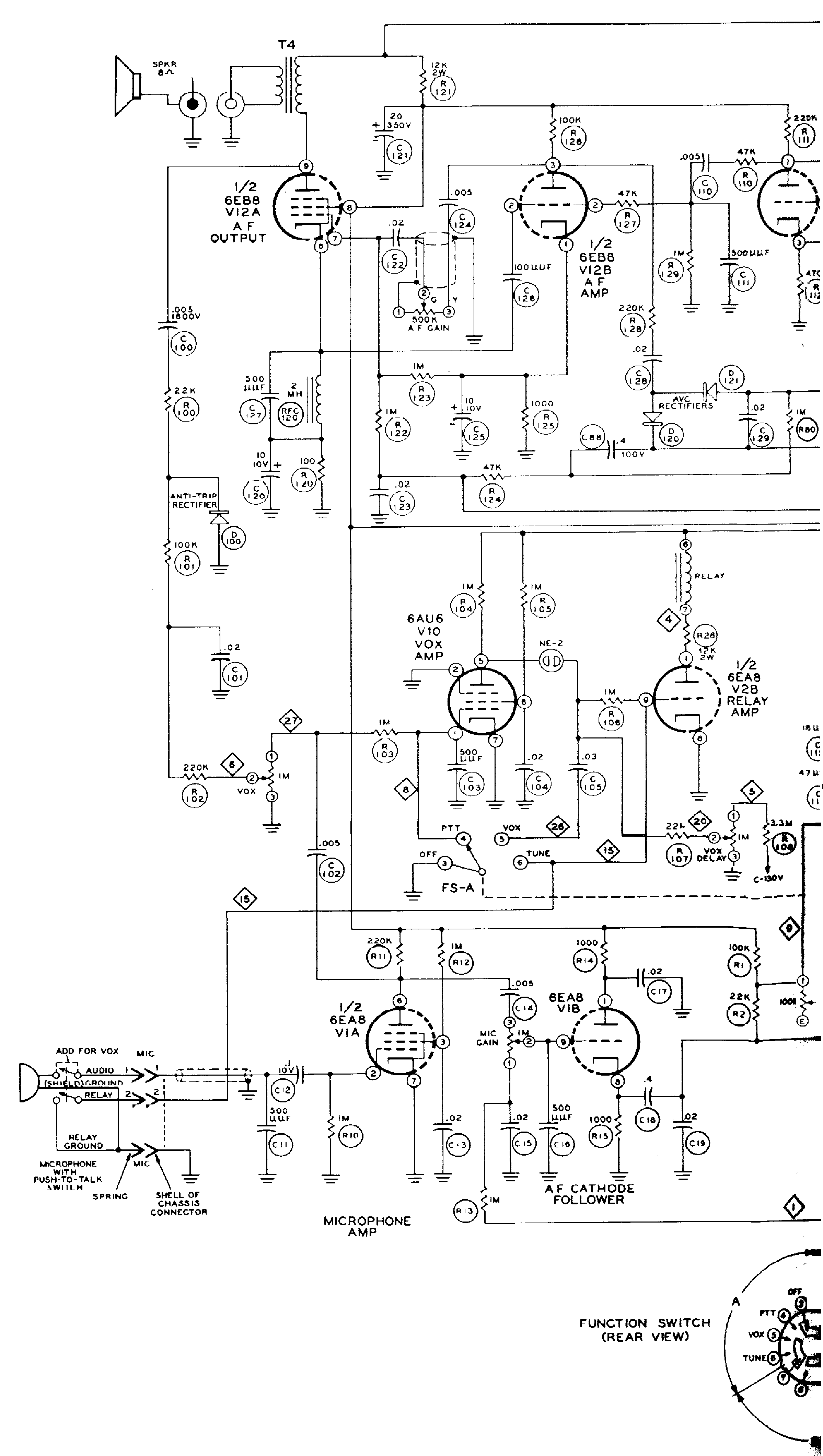 HEATHKIT HW-16 CW TRANSCEIVER SM Service Manual download