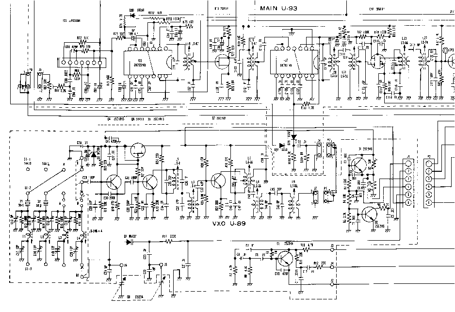 ICOM IC-202S SCHEMATIC Service Manual download, schematics