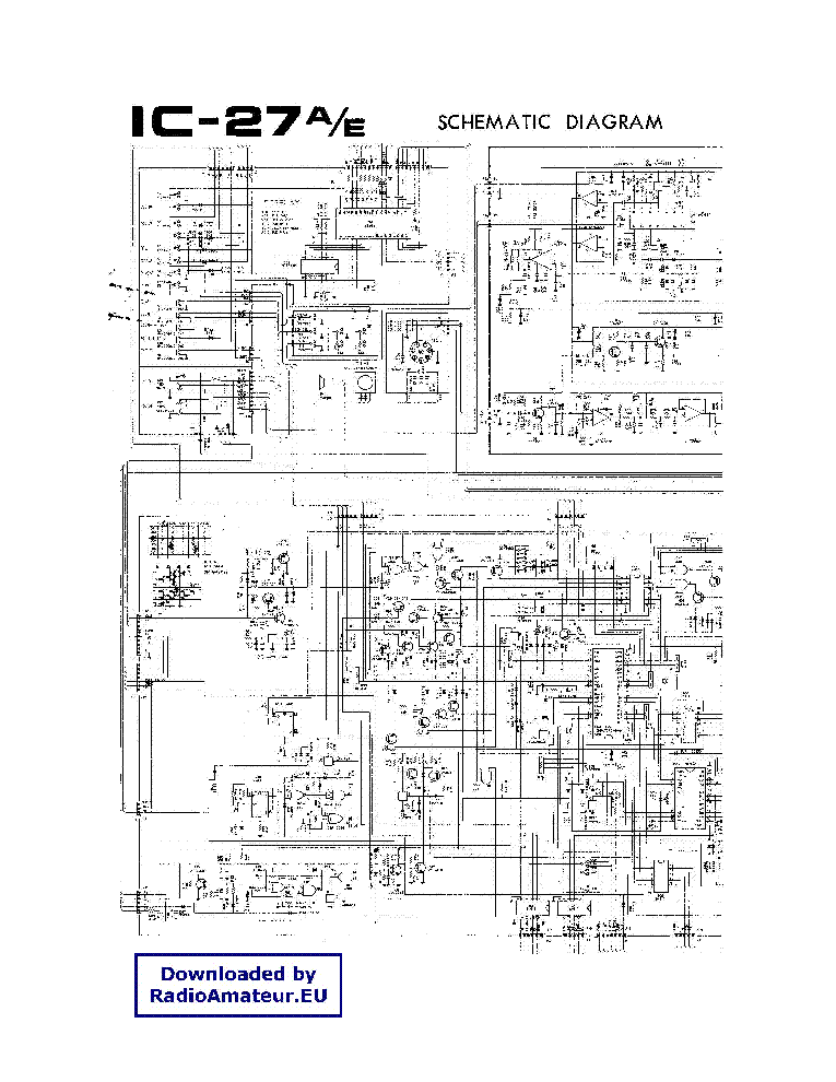 ICOM IC-BC-35 SCHEMATIC Service Manual free download