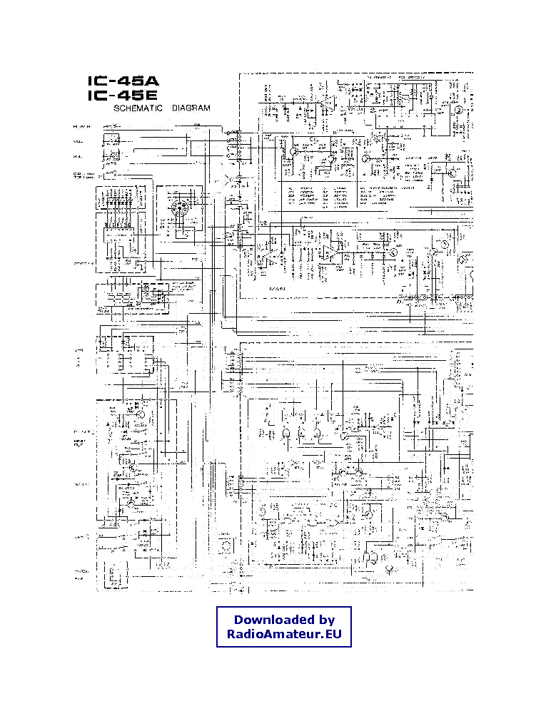ICOM IC-2725E SERVICE MANUAL Service Manual download