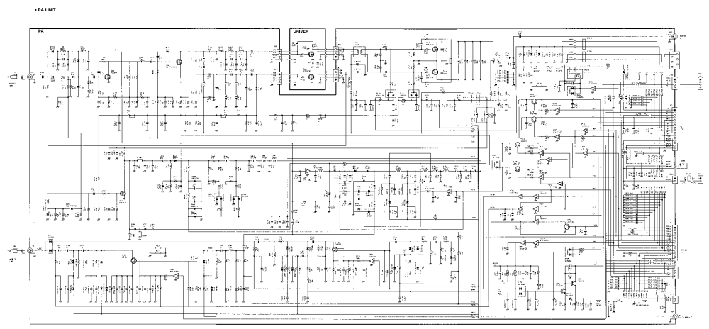 medium resolution of icom ic 706mkii schematic service manual 2nd page