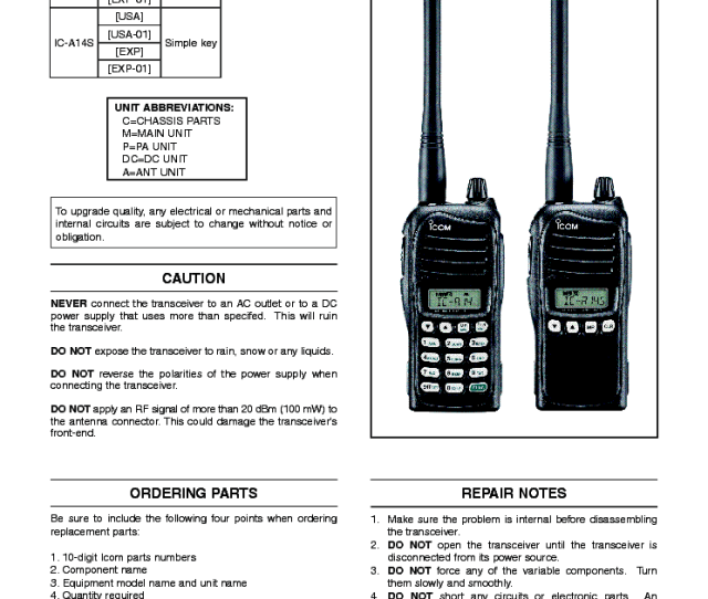 Page Vhf Marine Transceiver User Manual Icom Incorporated – Home