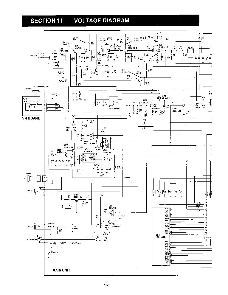 ICOM IC-A4 Service Manual download, schematics, eeprom