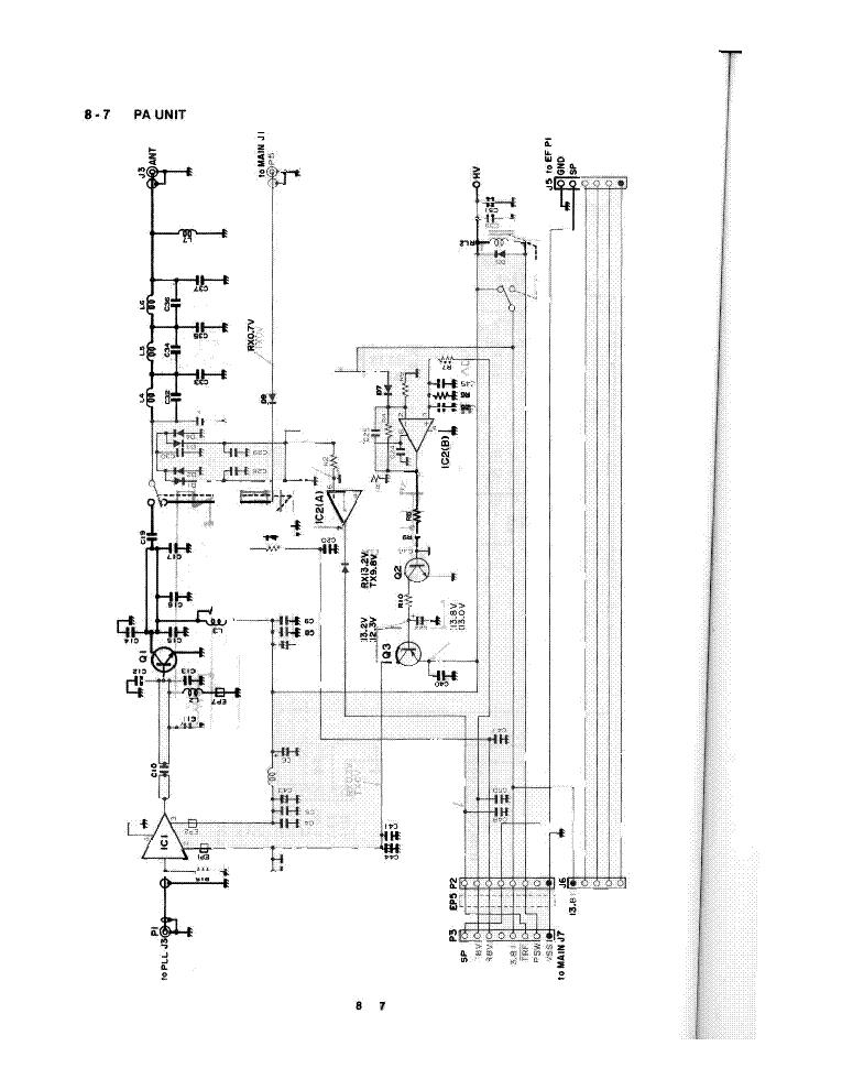 ICOM FP-601 MARINE PLOTTER-SOUNDER 1991 SM Service Manual