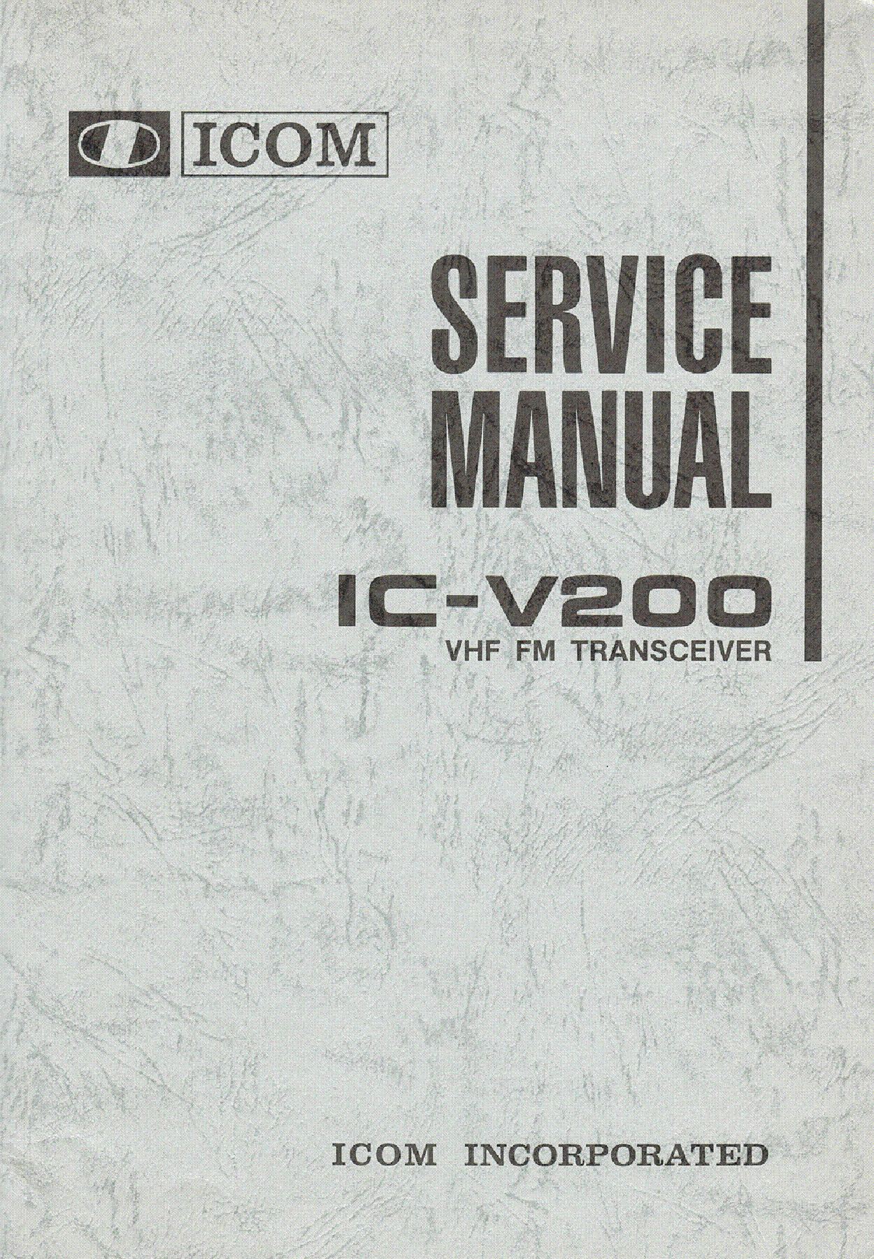 ICOM IC-251A, 251E SCHEMATIC DIAGRAM Service Manual