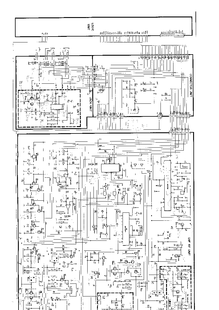 ICOM IC-W2A Service Manual download, schematics, eeprom