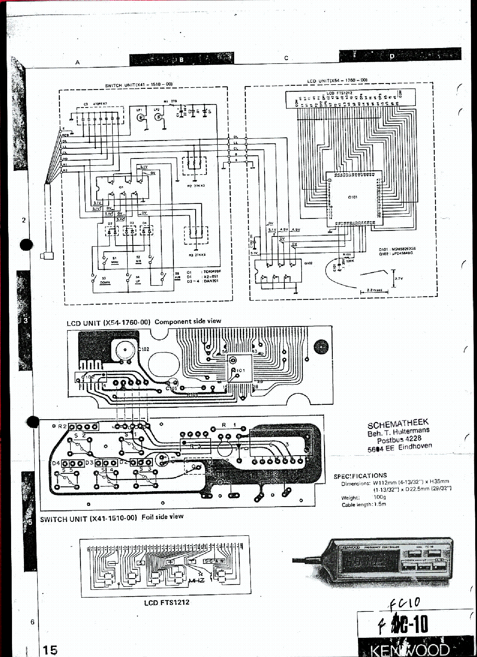 KENWOOD TRIO TS-530SP SM Service Manual download