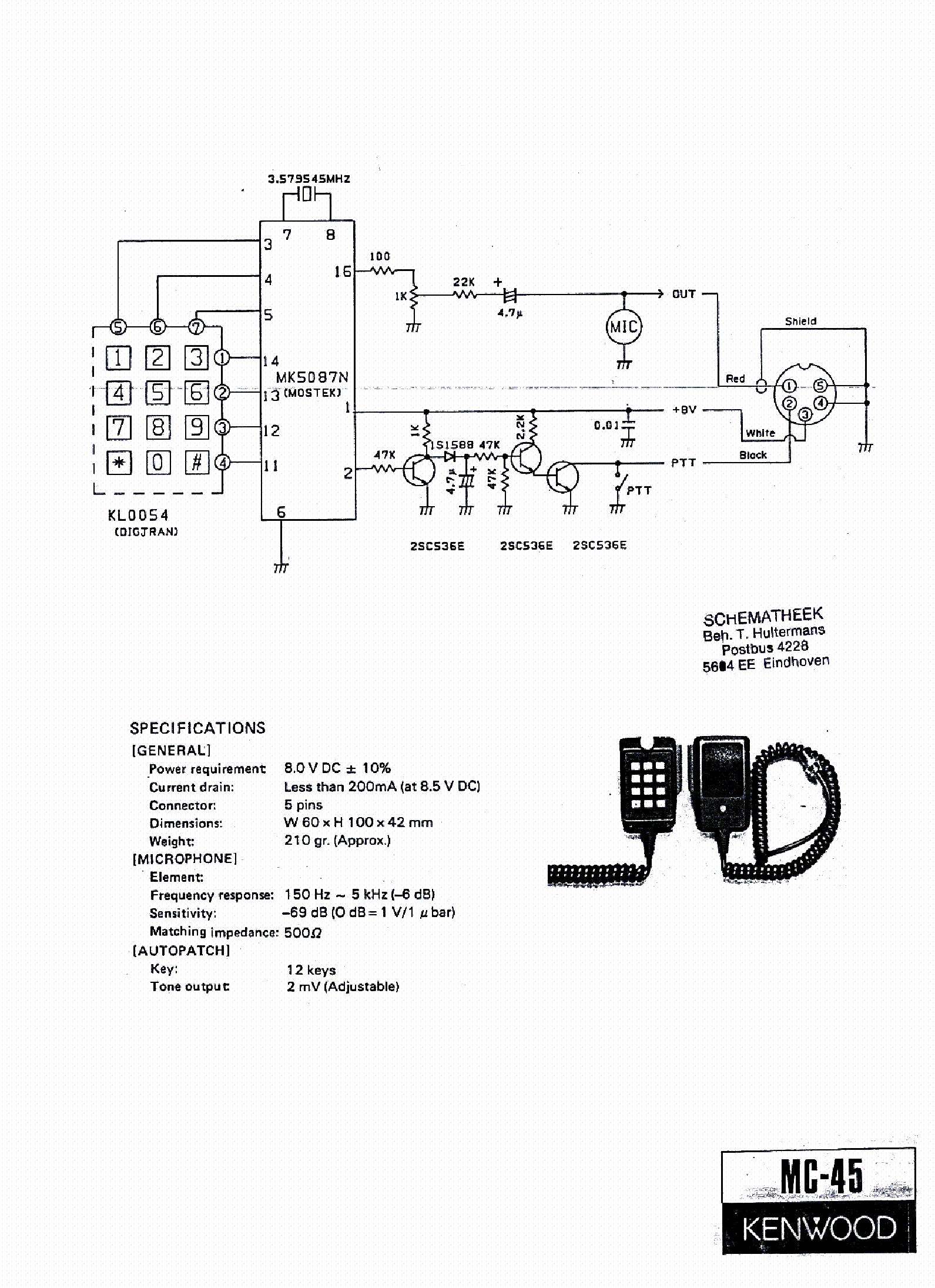 microphone wire diagram sympathetic and parasympathetic kenwood mc60 wiring 315 mic