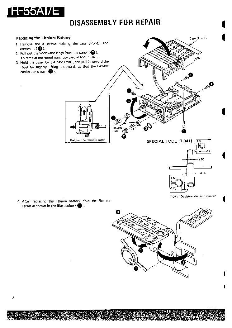 KENWOOD TH-55AT FULL Service Manual download, schematics