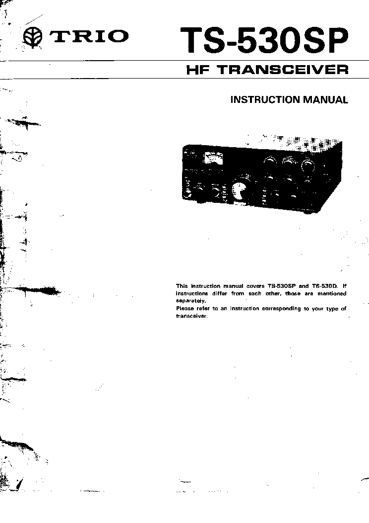 KENWOOD TS480 Service Manual free download, schematics
