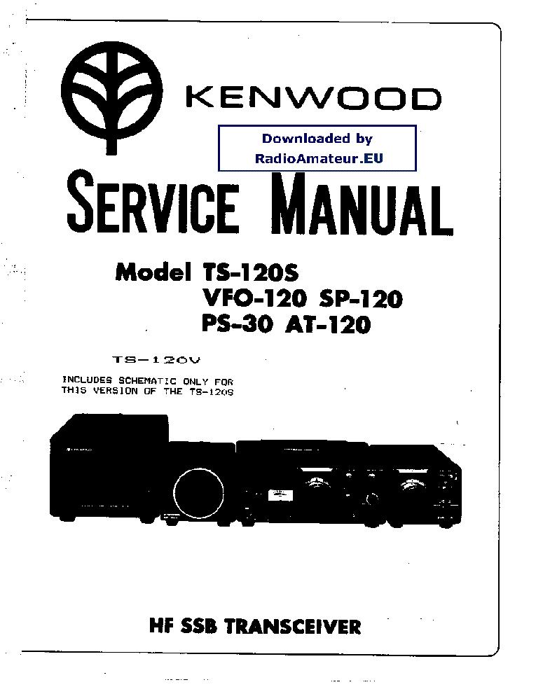 KENWOOD TS-120S SERVICE MANUAL PDF