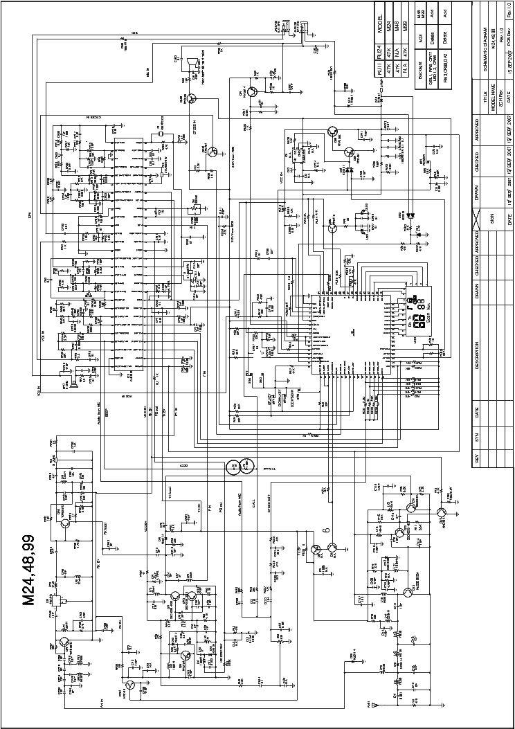 MIDLAND 77-099 SCH Service Manual download, schematics