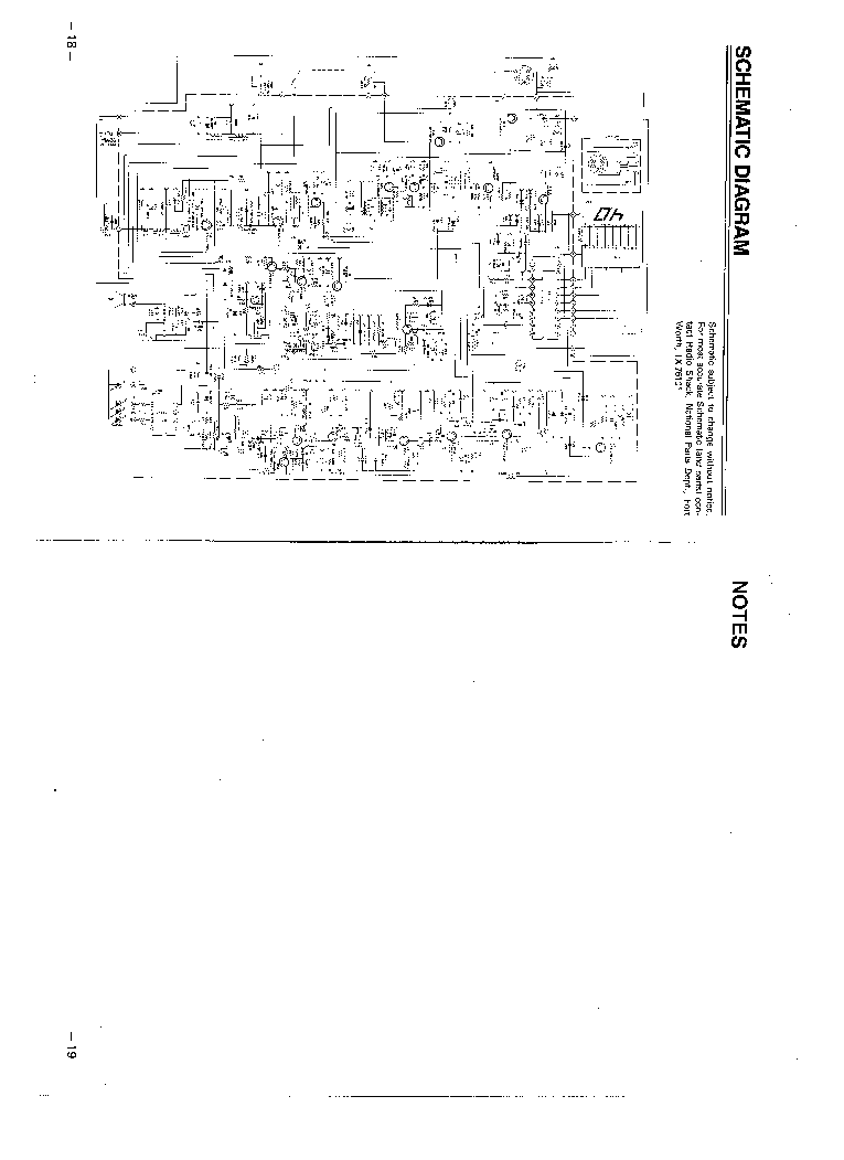 REALISTIC TRC-415 Service Manual download, schematics