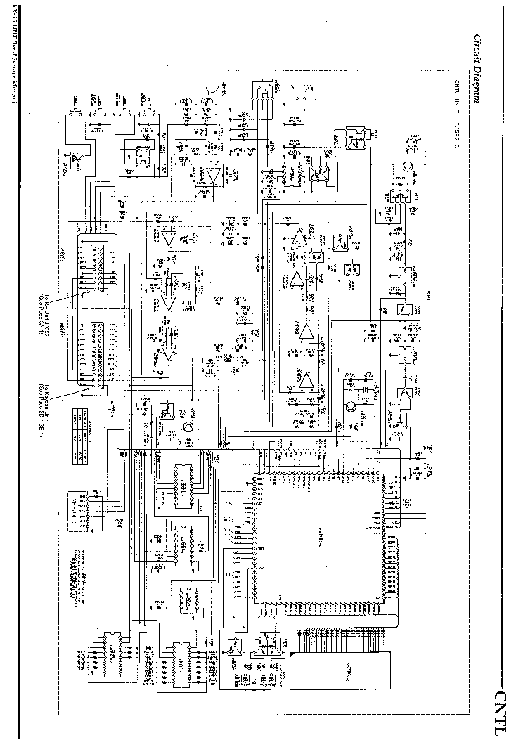 VERTEX VX-10 Service Manual download, schematics, eeprom