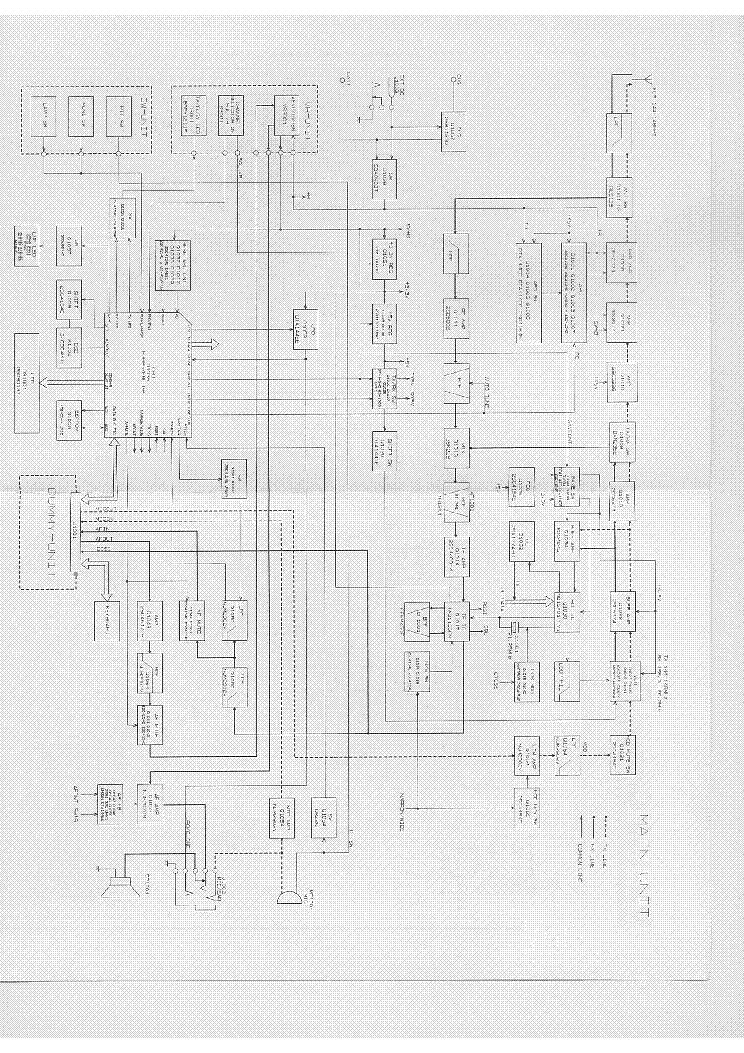 VERTEX VX-150 Service Manual download, schematics, eeprom