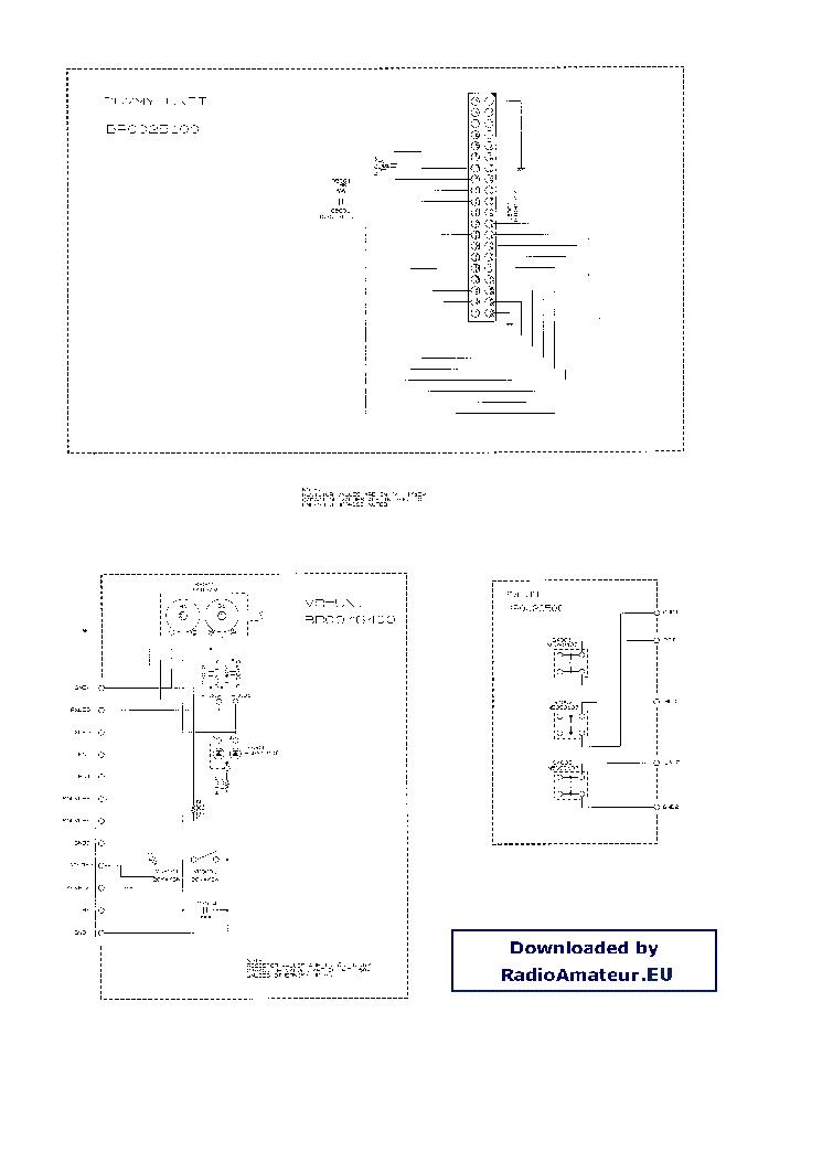 VERTEX VX150 Service Manual download, schematics, eeprom
