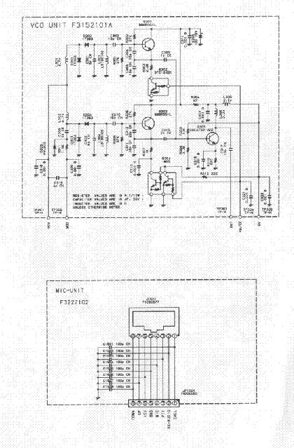 YAESU FT-2400H Service Manual download, schematics, eeprom
