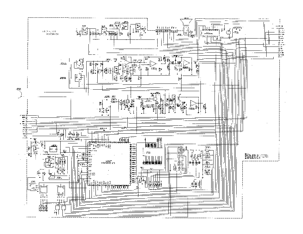 YAESU FT-2600M. Service Manual free download, schematics