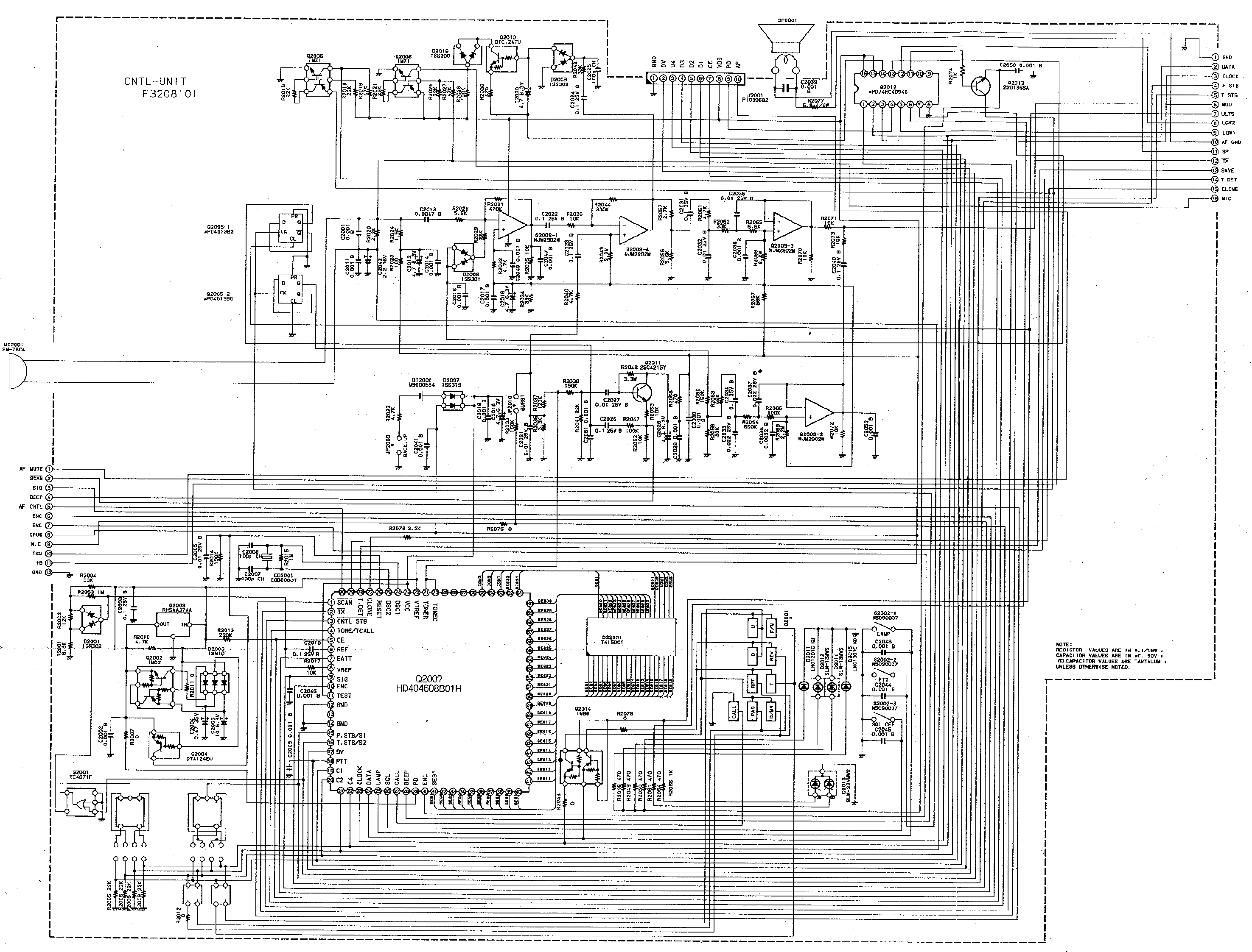 YAESU FT-26A Service Manual free download, schematics