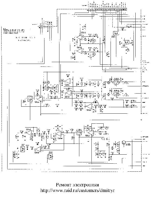 YAESU FT-530 CB SCH Service Manual download, schematics
