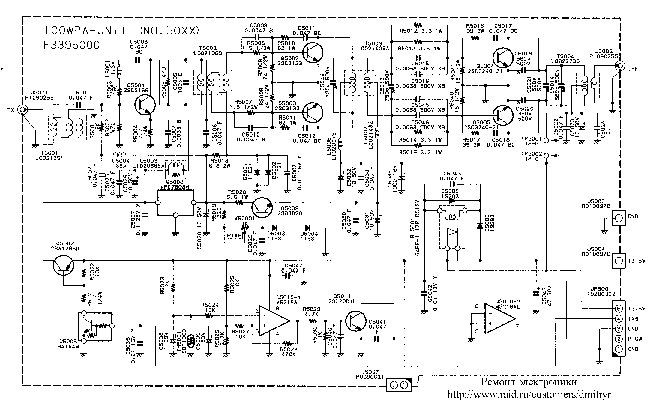 YAESU FT-840 CB SCH Service Manual download, schematics