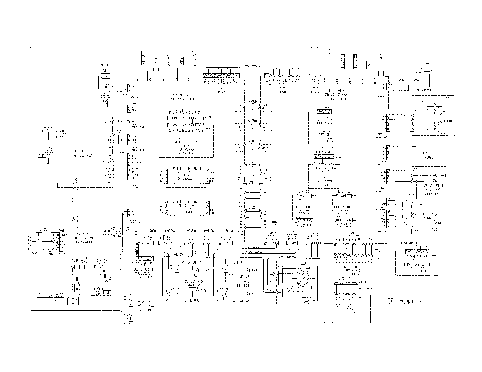 YAESU FL-2100B Service Manual free download, schematics